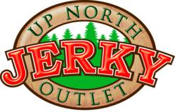 gI 62995 UPNJO Jpg Logo Up North Jerky Outlet Beef, Turkey and Wild Game Jerky Now Available at Gander Mountain Outdoor Sporting Goods Stores